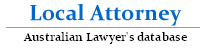 Local Attorney - Australian Lawyer's and Legal Firm Listings